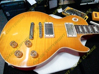Paul Kossoff Les-Paul Tribute GT - featured in Guitar & Bass Magazine